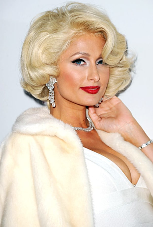 Paris hilton marilyn monroe wannabes us weekly - Hotel maryline monroe paris ...