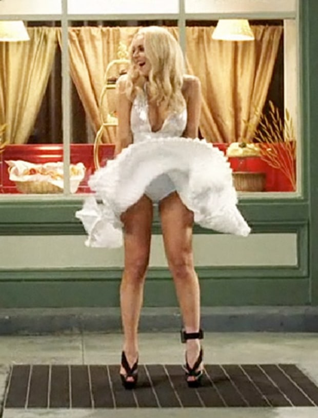 Lindsay lohan nue marilyn monroe