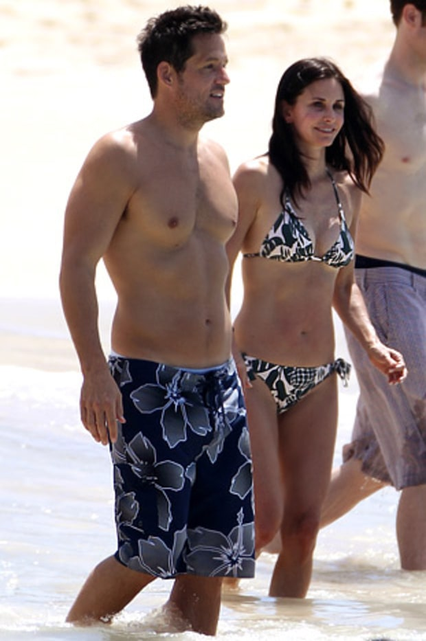 Josh Hopkins & Courteney Cox