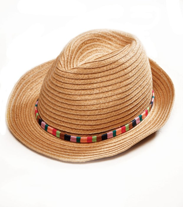 American Eagle Embroidery Fedora