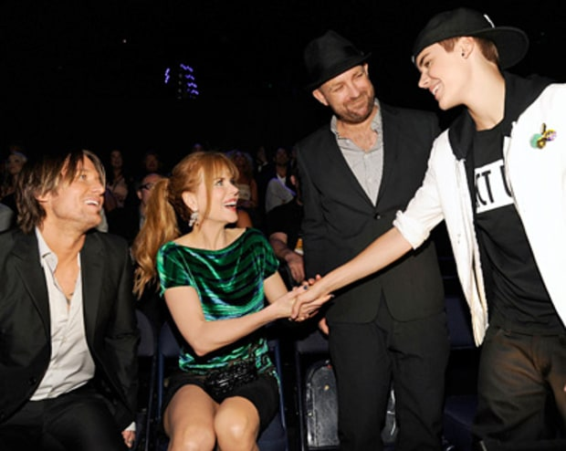 The Biebs Meets Nic!