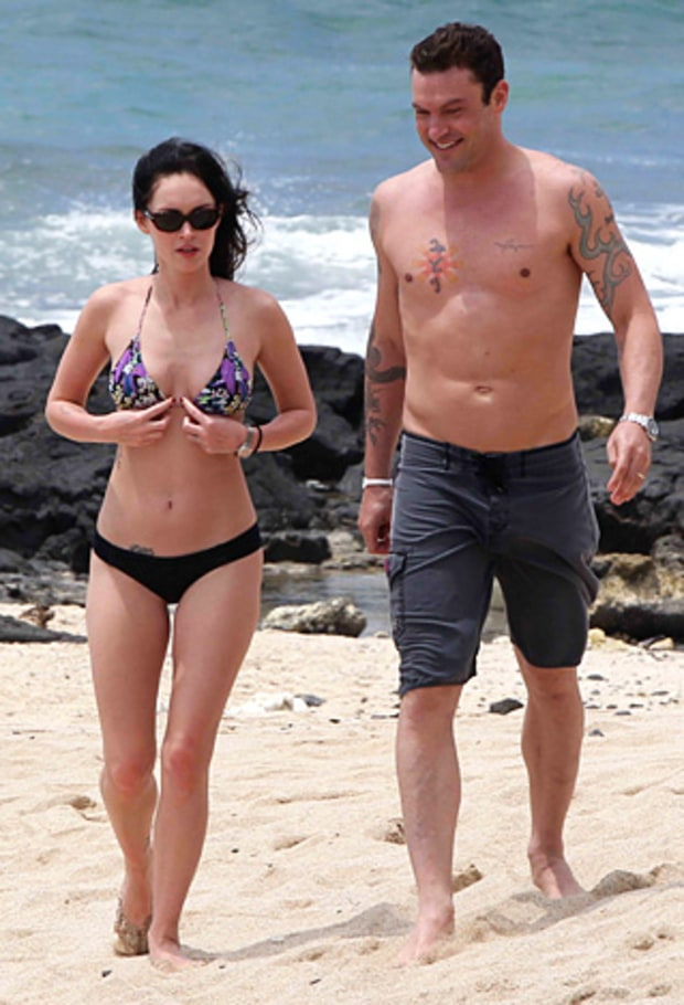 Megan Fox and Brian Austin Green