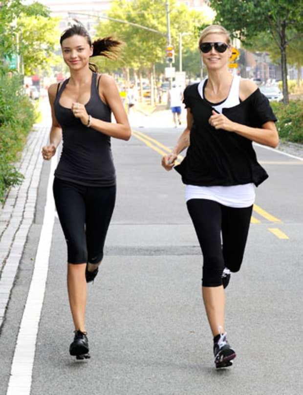 Supermodel Moms' Super-Run!