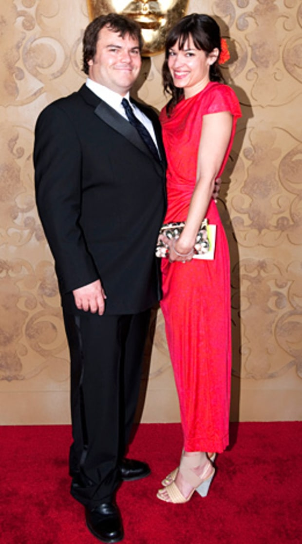 Jack Black and wife Tanya Haden