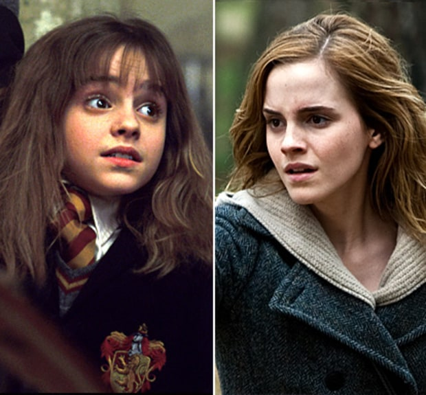 Emma Watson as Hermione Granger | Harry Potter Stars: Then ...