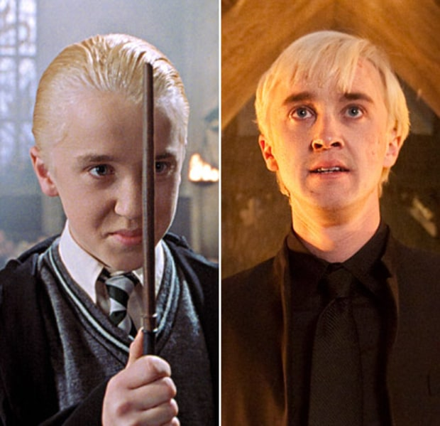 Tom Felton as Draco Malfoy | Harry Potter Stars: Then ...