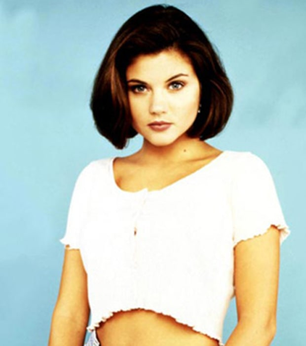 Tiffani Thiessen - Then
