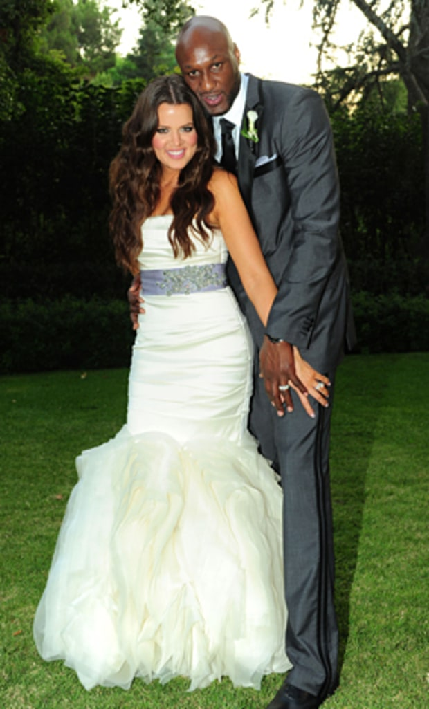 Khloe Kardashian | Stars Who Wore Vera Wang Wedding Gowns ...