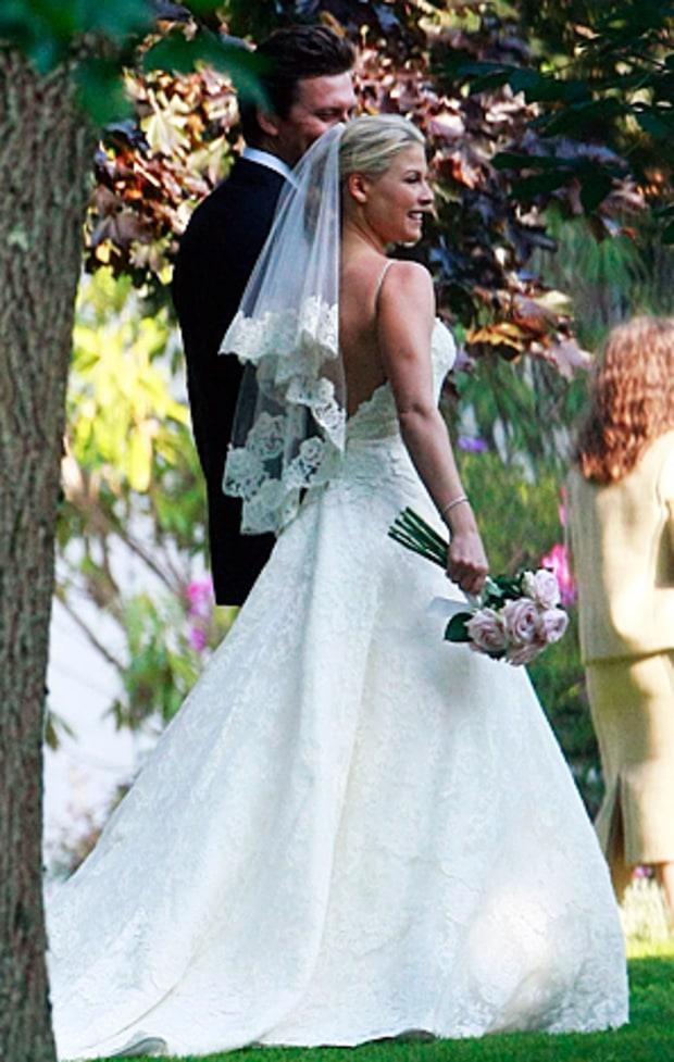 Ali Larter | Stars Who Wore Vera Wang Wedding Gowns | Us ...