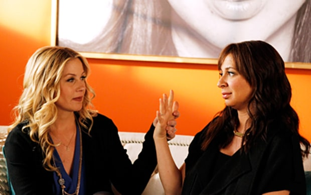 Christina Applegate and Maya Rudolph