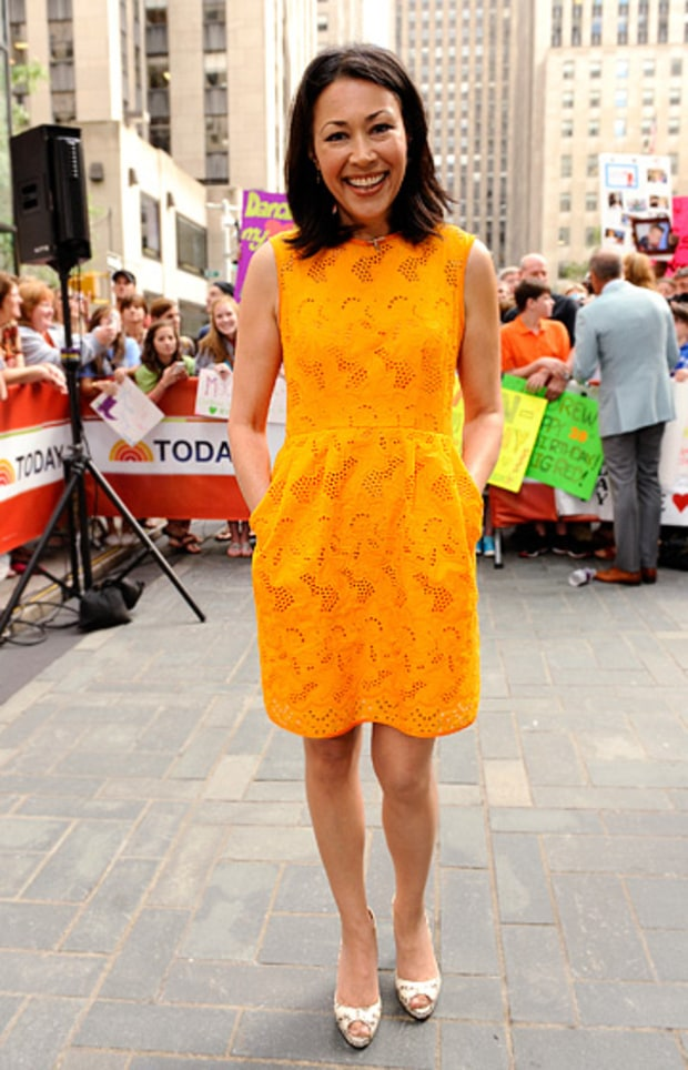 Ann Curry, co-anchor of the Today Show