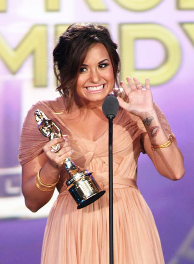 Demi's Big Win