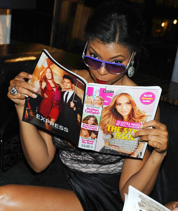 Taraji P. Henson Reads Us Weekly!