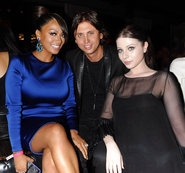 Lala, Jonathan Cheban and Michelle Trachtenberg