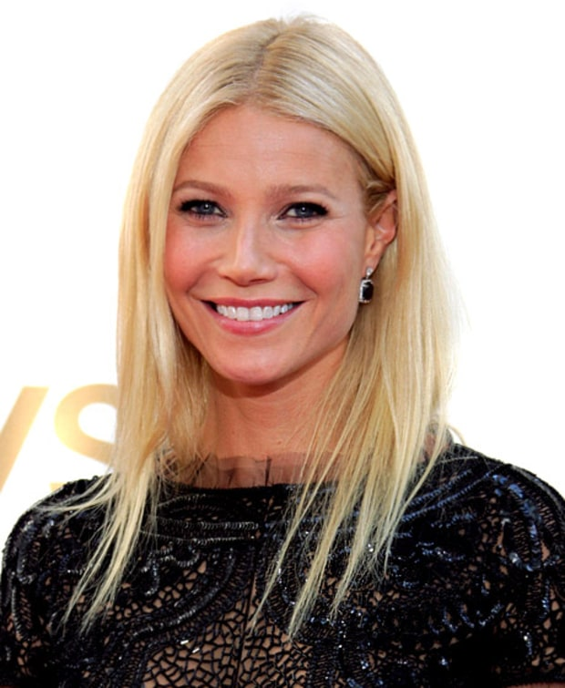 Gwyneth Paltrow's Pin-Straight Strands