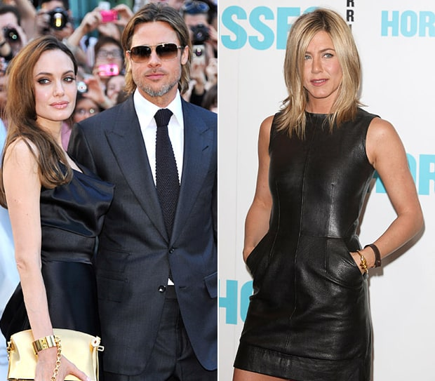 Brad Pitt and Angelina Jolie vs. Jennifer Aniston