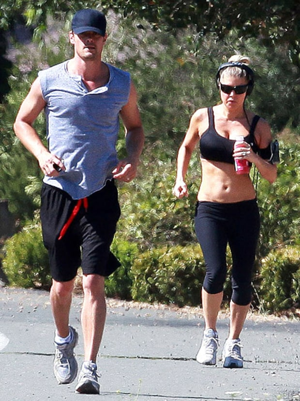 Couple That Jogs Together