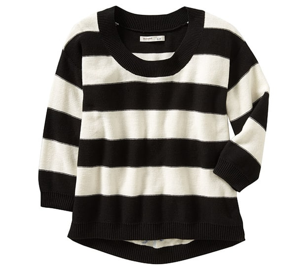 Old Navy Women's Bold-Stripe Sweater