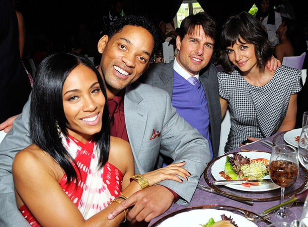 Jada Pinkett Smith, Will Smith, Tom Cruise and Katie Holmes