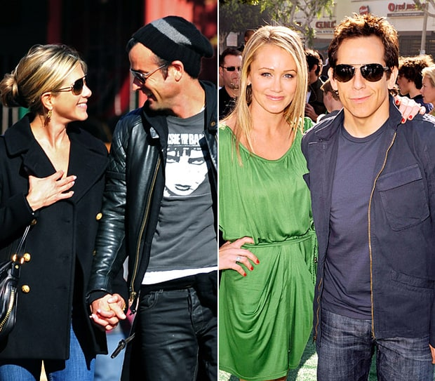 Jennifer Aniston, Justin Theroux, Ben Stiller and Christine Taylor