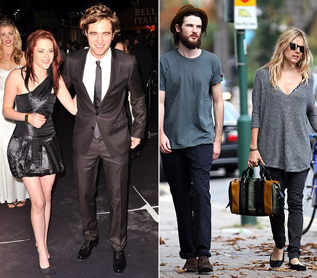 Kristen Stewart, Rob Pattinson, Tom Sturridge and Sienna Miller