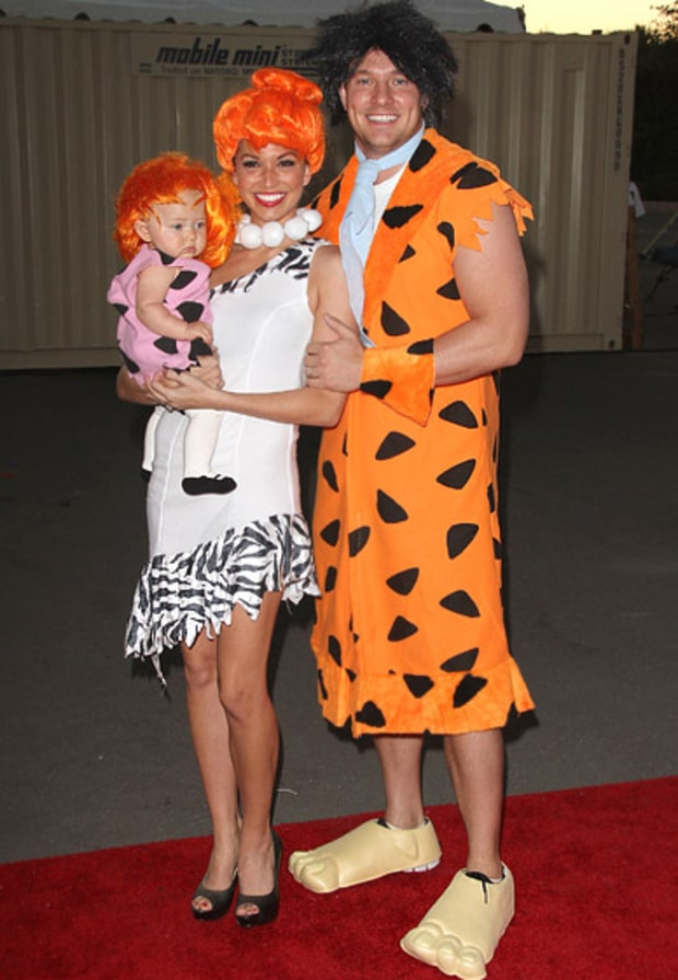 Melissa Rycroft, Tye Strickland and Ava Grace