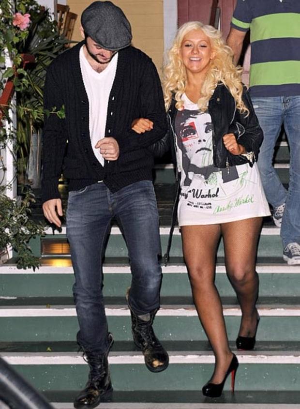 Christina Aguilera | Stars Without Pants | Us Weekly пэрис хилтон