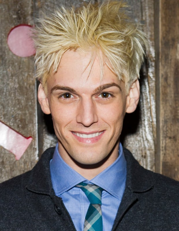 It's Aaron Carter!