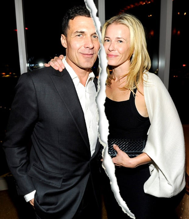 Andre Balazs and Chelsea Handler