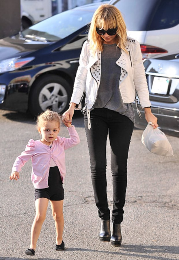 Nicole Richie and Harlow