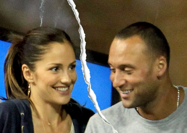Minka Kelly and Derek Jeter