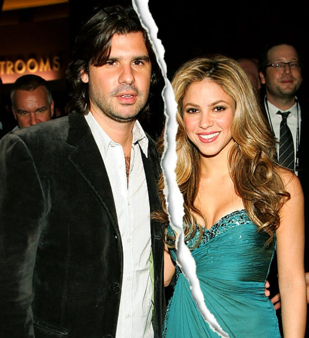 Shakira and Antonio de la Rue
