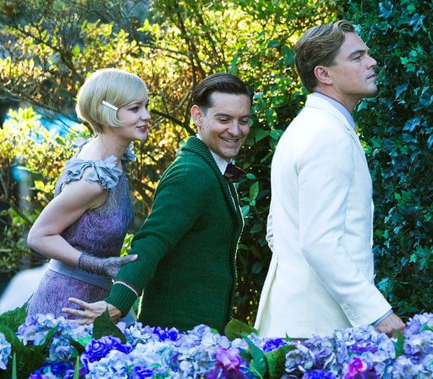 Daisy, Nick and Gatsby!