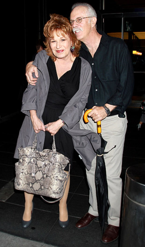 Joy Behar and Steve Janowitz