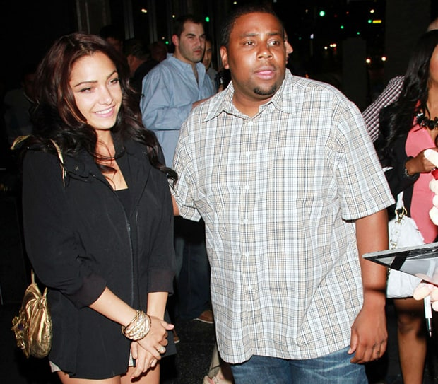 Kenan Thompson and Christina Evangeline
