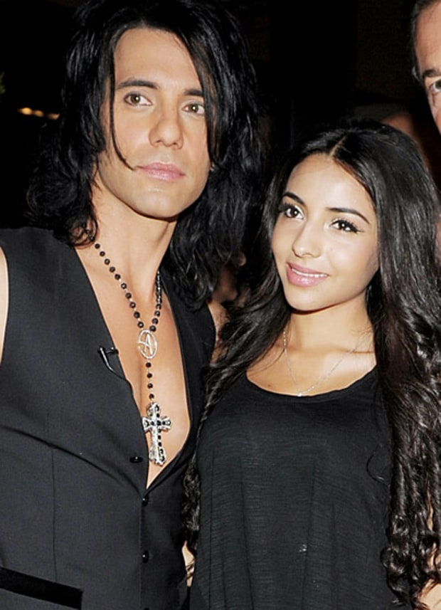 Criss Angel and Sandra Gonzalez