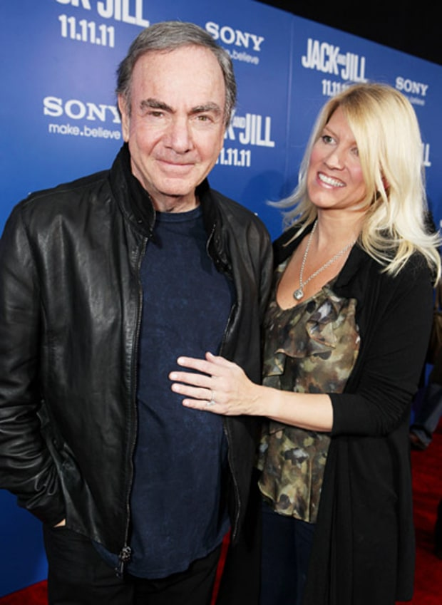 Neil Diamond and Katie McNeil
