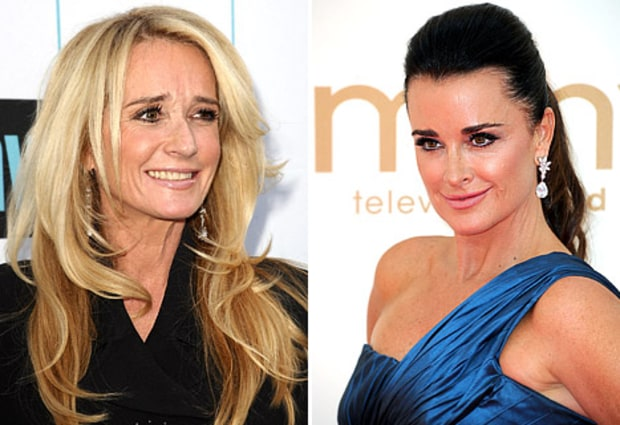 Kim and Kyle Richards Come to Blows