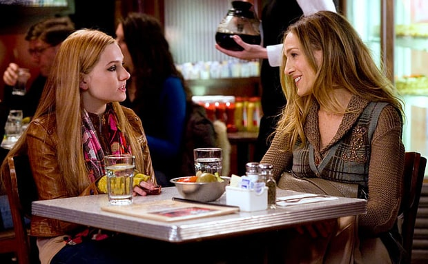 Abigail Breslin and Sarah Jessica Parker