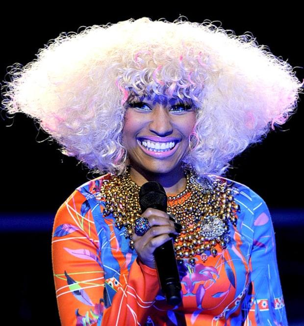 Cool June 27 2010 Nicki Minaj39S Craziest Hairstyles Ever Us Weekly Short Hairstyles Gunalazisus