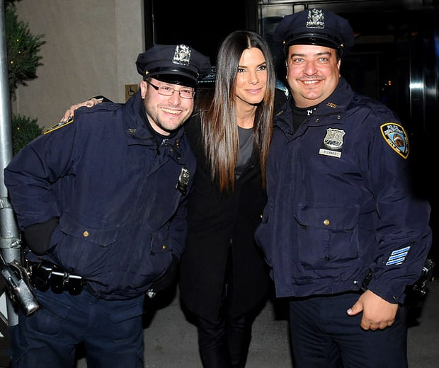 Sandy Meets NYC's Finest