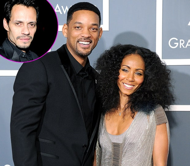 Will and Jada Pinkett Smith, Marc Anthony