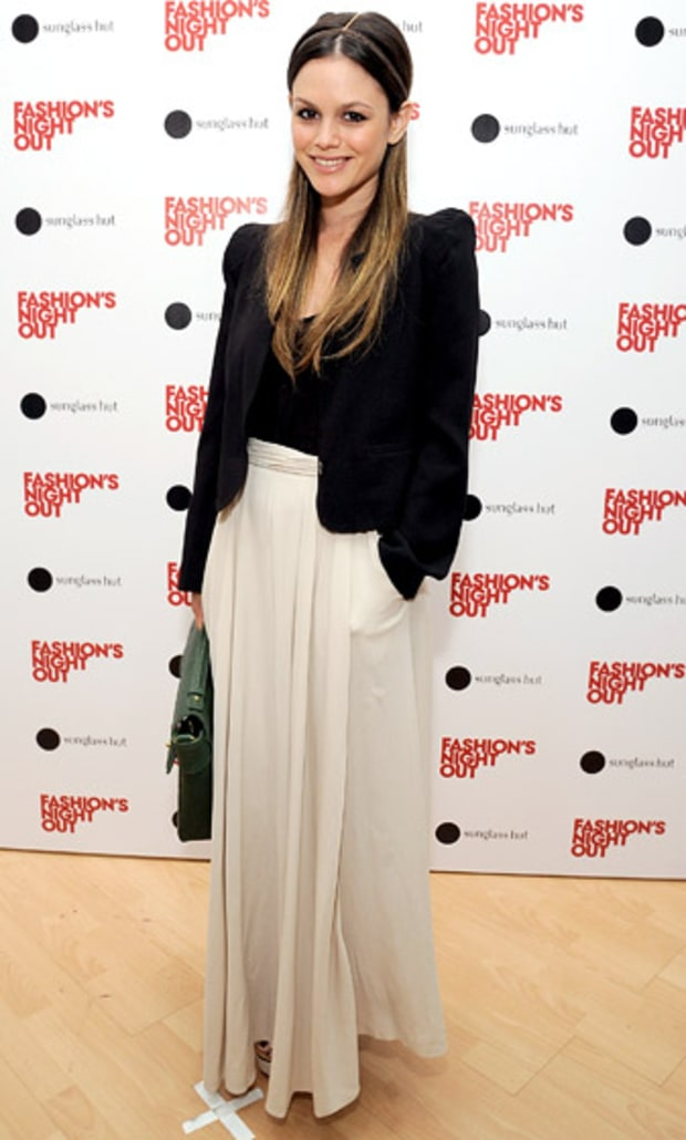 with a maxi skirt 5 ways to wear a black blazer us weekly