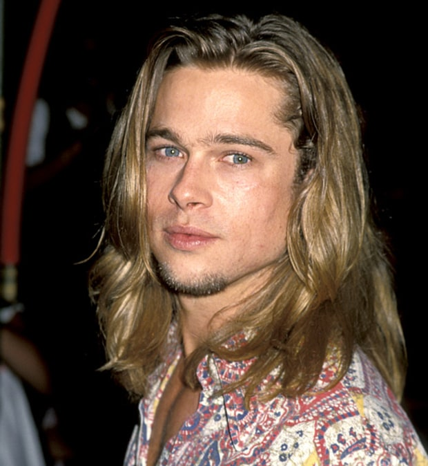 Sept 8 1993 Brad Pitt S Hair Evolution Us Weekly