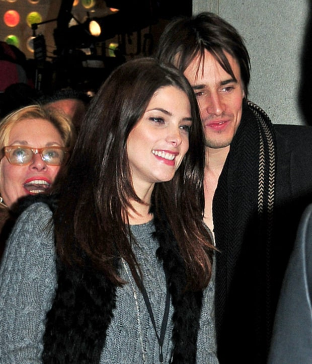 Ashley Greene and Reeve Carney
