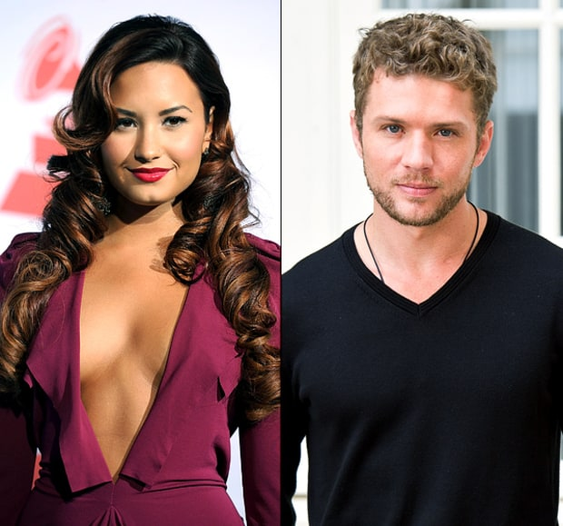 Demi Lovato and Ryan Phillippe