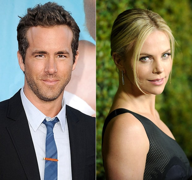 Ryan Reynolds and Charlize Theron