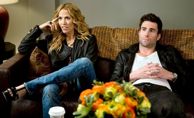 Sheryl Crow and Adam Levine