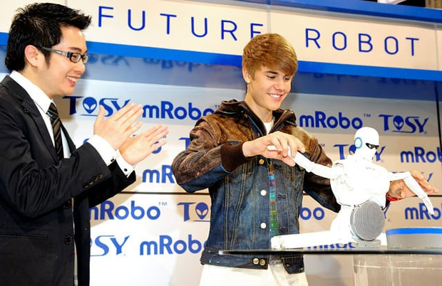 Bieber and the Robot