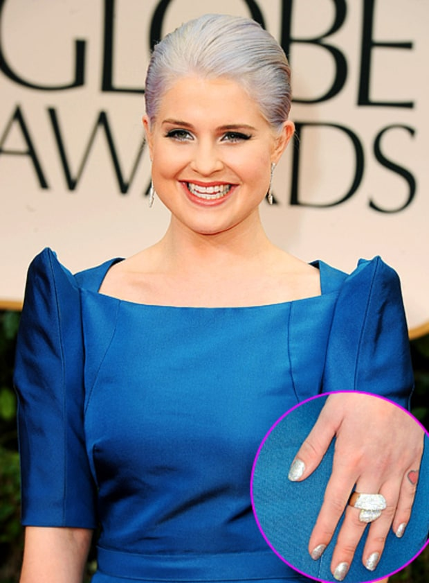 Golden Globes: Kelly Osbourne